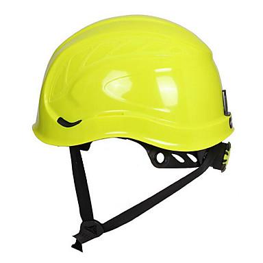 amarelo e azul de metal isolada anti-respingo capacete capacete montanhismo tampa protectora