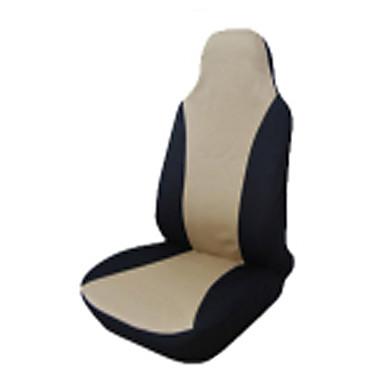 voordelige Auto-interieur accessoires-Universele autostoel covers voor achter hoofd rust volledige set auto stoelhoezen kussen stoel protector