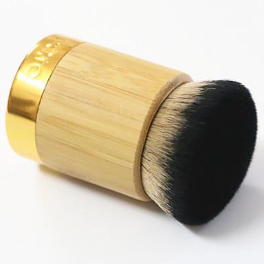 Brush Sets Syntetisk Hår Bærbar Fuld Dækning Træ Ansigt