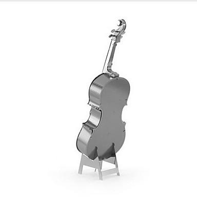 voordelige 3D-puzzels-3D-puzzels Modelbouwsets Speeltjes Muziekinstrumenten Cello Metaal Jongens Meisjes 1 Stuks