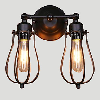 Wall Light Ambient Light Wall Sconces 40WW 110-120V 220-240V E27 Rustic/Lodge Painting