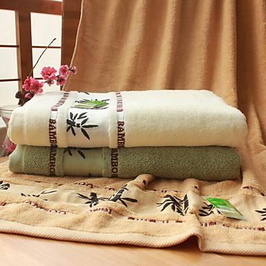 Badehåndklæde,Mønstret Høj kvalitet 100% Bambus Fiber Håndklæde