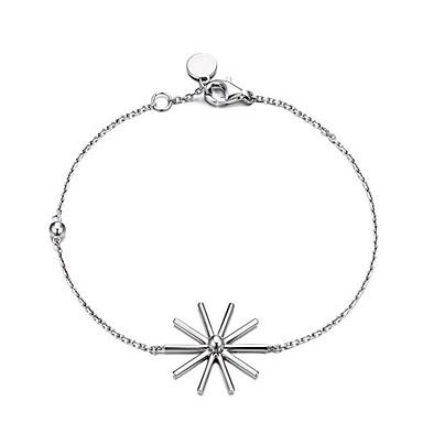Dame Charm-armbånd Mode Legering Blomst Smykker Daglig Afslappet