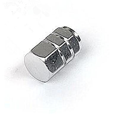 4pcs tapa de neumáticos de automóviles, tapa de válvulas, tapa de la válvula de aluminio 13-2c \ 191