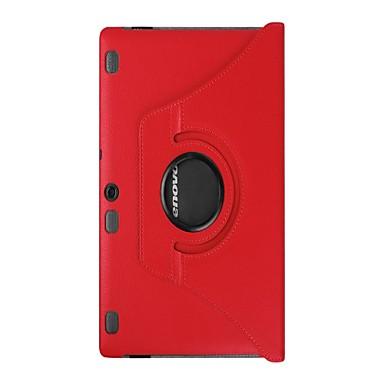Capinha Para Capa Proteção Completa Tablet Cases Côr Sólida Rígida PU Leather para