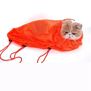 Kat Dragers & Reistassen Doekjes Huisdieren Verzorgingsbenodigdheden waterdicht draagbaar Oranje Grijs Blauw Roze