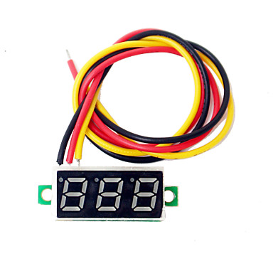 0,28 Zoll-Mini-LED-dc2.5-30v volt-Messanzeige Digitalvoltmeter