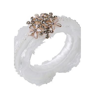Pearl Akryyli Häät Napkins-2 Kukin / Set Servet Ring