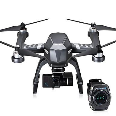 RC Drone XEagle 4 Kanaler 6 Akse 2.4G Med HD-kamera 2.8K Fjernstyret quadcopter LED Lys En Knap Til Returflyvning Auto-Takeoff Fejlsikker