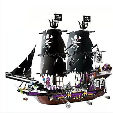 Action figur For Gift Byggeklodser Model- og byggelegetøj Krigsskib ABS Alle Sort Fade / Brun Legetøj