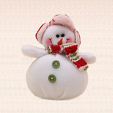 1pc ano novo botão verde boneco pingente decoração da árvore de natal xmas único comemorar presente