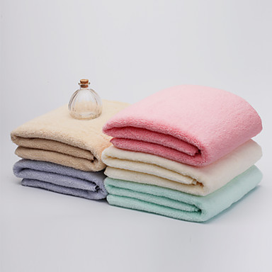bzhome®cotton badehåndklæde absorberende åndbar behagelig bomuld