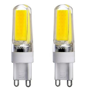 3W G9 LED-lamper med G-sokkel T 1 leds COB Dæmpbar Dekorativ Varm hvid Kold hvid Naturlig hvid 300-350lm 3000-6000K Vekselstrøm 220-240