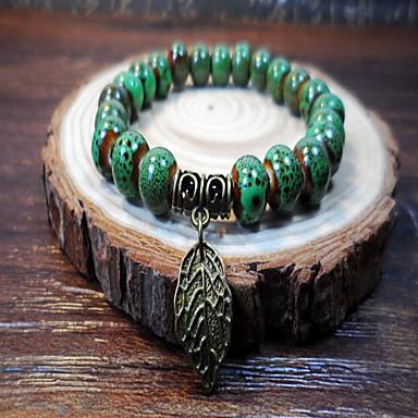 Dames Strand Armbanden Wikkelarmbanden Modieus Sierstenen Kostuum juwelen Legering Sieraden Sieraden Voor Dagelijks Causaal