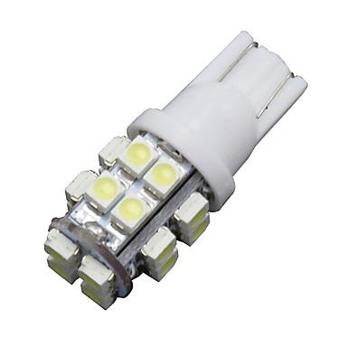SO.K 6pcs T10 Bil Elpærer SMD 3528 150 lm Blinklys For Universell