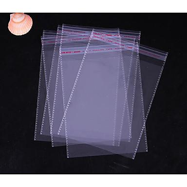 opp taske 30 * 40 specifikationer plast taske pakning taske gennemsigtig tøj poser tilpassede selvklæbende