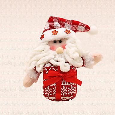 1pc glædelig juletræ dekoration gave santa claus charme træ hængende vedhæng til børn til stede
