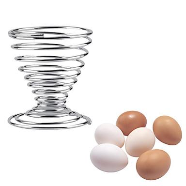 Herramientas de cocina Acero inoxidable Cocina creativa Gadget Soporte para huevo 1pc