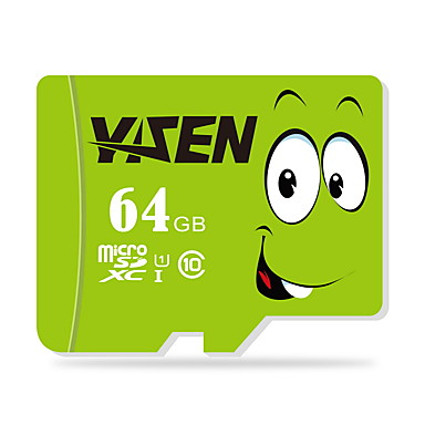 yisen 64GB UHS-i u1 / luokka 10 microSD / microSDHC / microSDXC / tfmax lukea speed80 (mb / s)