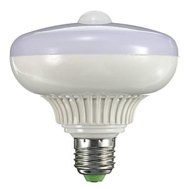 1pc 12 W 1200 lm B22 / E26 / E27 Bombillas LED Inteligentes 12 Cuentas LED SMD 5730 Con Sensor / Sensor de infrarrojos Blanco Cálido / Blanco Fresco 85-265 V / 1 pieza / Cañas