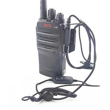 365 k302 de alta potência walkie-talkie 16 canais de frequência 400-520mhz anti-wrestling anti-chuva 1 embalagem
