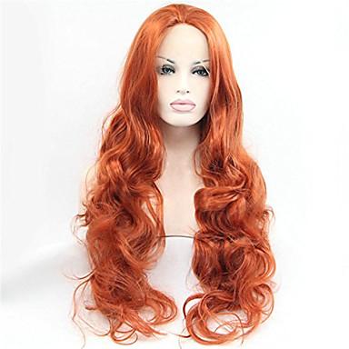 Syntetisk hår Parykker Krop Bølge Blonde Front Blonde Paryk