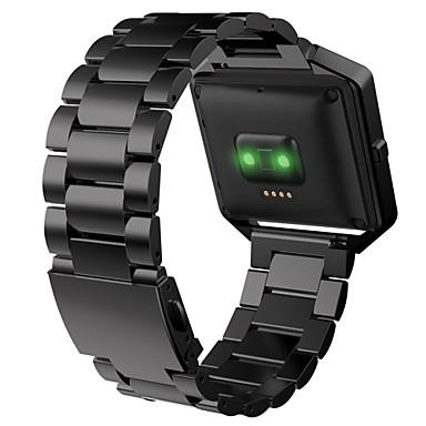 Klokkerem til Fitbit Blaze Fitbit Sportsrem Metall Rustfritt stål Håndleddsrem
