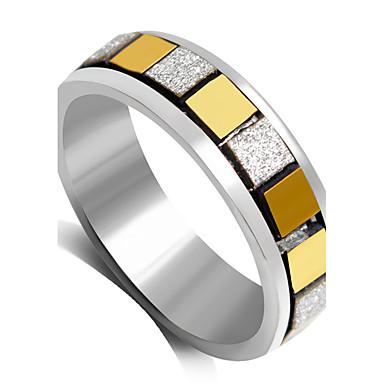 Dame Statement Ring Sort Sølv Gylden Legering Mode Bryllup Fest Kostume smykker