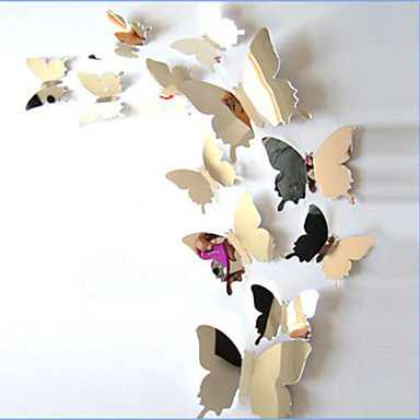 Dyr Veggklistremerker Veggklistremerker i Speilstil Dekorative Mur Klistermærker, Vinyl Hjem Dekor Veggoverføringsbilde Vegg