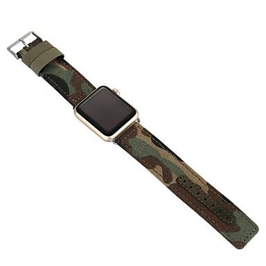 Klokkerem til Apple Watch Series 3 / 2 / 1 Apple Klassisk spenne Stoff Håndleddsrem