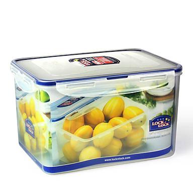 1/set Køkken køkken Polypropylene Madpakkebokse 248*180*150mm