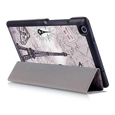Capinha Para Lenovo Capa Proteção Completa Tablet Cases Retalhos Rígida PU Leather para