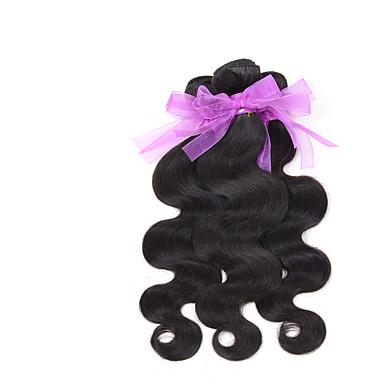 Cabelo Brasileiro Onda de Corpo Tramas de cabelo humano 3 Peças 0.3