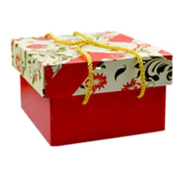 cor vermelha, outro material de embalagem& dom caixa de transporte de um pacote de dois