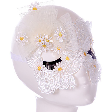 Lace Mask 1pc Holiday Decorations Party Masks Cool / Modieus Een maat Wit Kant