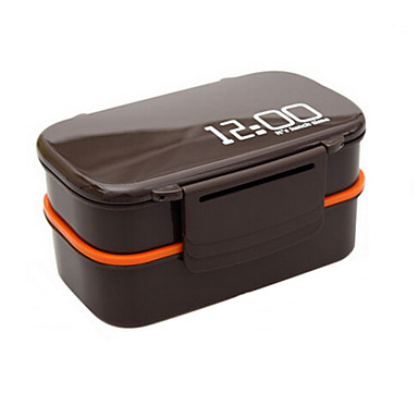 1pc Κουτιά Κολατσιού Πλαστικό Εύκολο στη χρήση Οργάνωση κουζίνας