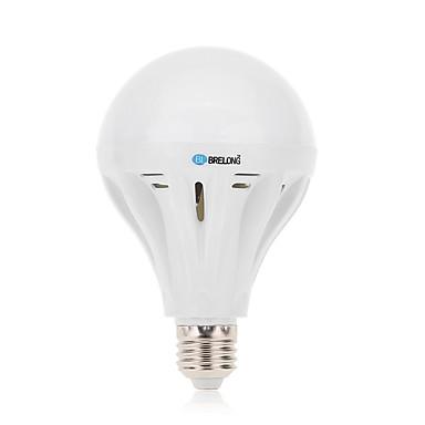 12 E26/E27 Lâmpada Redonda LED A60(A19) 45 SMD 2835 1000 lm Branco Quente / Branco Frio Decorativa AC 220-240 V 1 pç