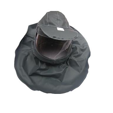 happo suojaava huppu maalipöly maski hengityssuojaimet cap roiskahtaa happo läpinäkyvä harmaa naamarit