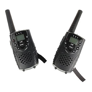 T667446B Rádio de Comunicação Portátil Aviso De Bateria Fraca VOX Codificação CTCSS/CDCSS Bloqueio de Teclado Lanterna Traseira LCD