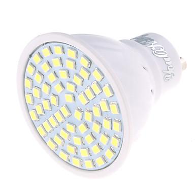 GU10 LED-spotlampen MR16 60 leds SMD 2835 Decoratief Warm wit Koel wit 350lm 3000/6000K AC 220-240V