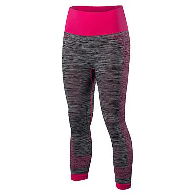 Dame Treningstights / Tights til jogging Fort Tørring, Bekvem, Komprimering Leggings / 3/4 Tights / Bunner Yoga & Danse Sko / Trening &