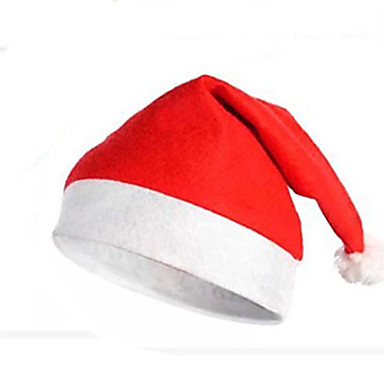 Christmas Party Supplies Santa Claus Hat Santa Costumes Toys Textile Adults' 1 Pieces