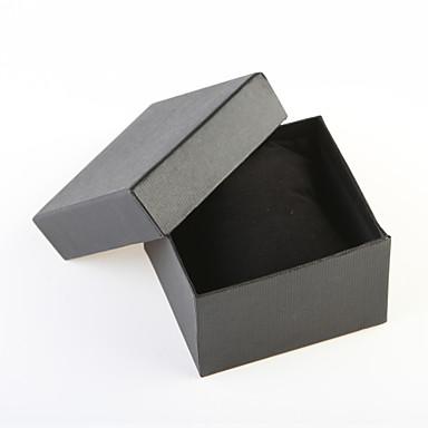 baratos Relógios Homem-Caixas para relógios Papel #(0.034) #(9.0 x 8.0 x 5.5) Acessórios de Relógios