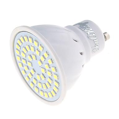 3 GU10 LED-spotlys MR16 48 SMD 2835 250 lm Varm hvid / Kold hvid Dekorativ AC 220-240 V 1 stk.