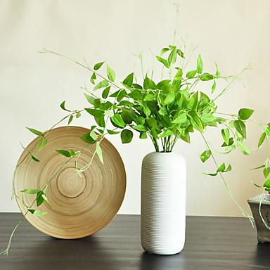 1 Gren Silke Planter Bordblomst Kunstige blomster