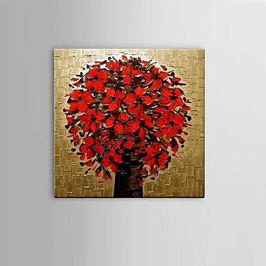 Hånd-malede Abstrakt / Still Life / Fantasi / Blomstret/Botanisk Oliemalerier,Parfumeret / Europæisk Stil / Moderne / Klassisk Et Panel