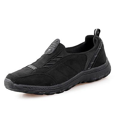 Heren Schoenen Suède Lente Zomer Herfst Winter Comfortabel Loafers & Slip-Ons Voor Sportief Causaal Zwart Bruin Groen