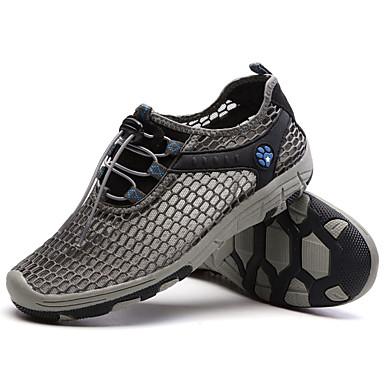 Sneakers-Tyl-Komfort-Herre-Blå Grøn Grå Khaki-Sport-Flad hæl
