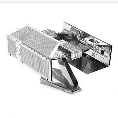 voordelige 3D-puzzels-Aipin 3D-puzzels Modelbouwsets Vechter Tie Fighter DHZ Metallic Klassiek Jongens Meisjes Speeltjes Geschenk
