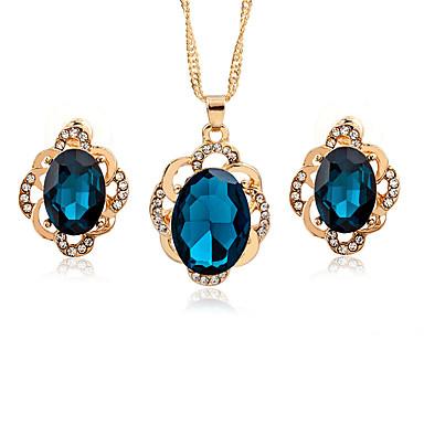 Schmuck Halsketten / Ohrringe Halskette / Ohrringe Modisch Hochzeit / Party / Alltag / Normal 1 Set Damen Goldfarben Hochzeitsgeschenke